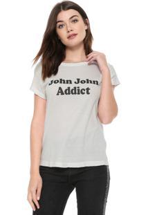 Camiseta John John Addict Off-White