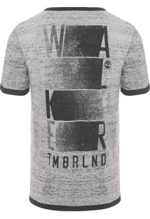 Camiseta Masculina Walker - Cinza