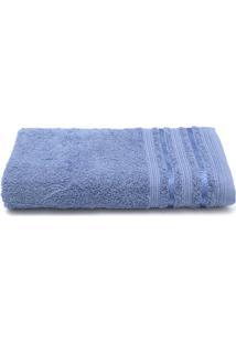 Toalha De Banho Santista Prata Dante 70Cmx1,35M Azul