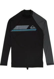 Camiseta Surf Lycra Quiksilver Manga Longa Active Ls - Masculino