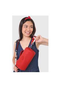 Bolsa Desigual Across Body Bag Lazarus Vermelha