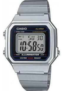 Relógio Casio Vintage B650Wd-1Adf - Feminino-Prata