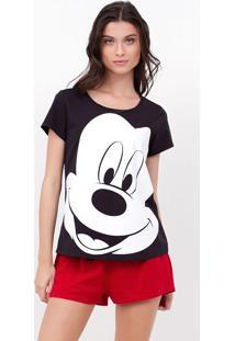 Pijama Com Estampa Mickey