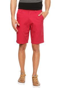 Bermuda Jeans Code Blue Lisa Vermelha