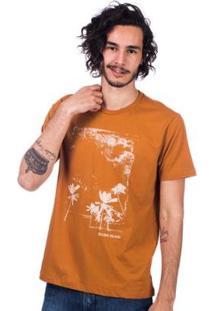 Camiseta Long Island Wind - Masculino-Laranja