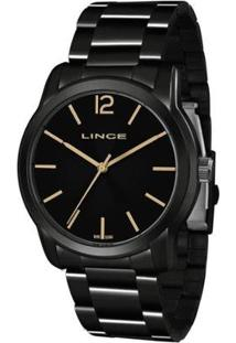 Relógio Lince Lrn4449L P2Px Feminino - Feminino-Preto