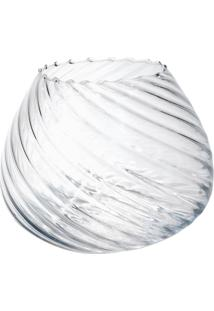 Vaso Bianco & Nero Moon 19,5X24Cm Transparente - Kanui