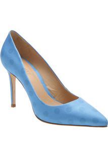 Scarpin Poã¡- Azul Claro & Azulschutz