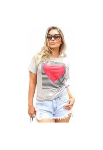 Camiseta D Bell Cinza