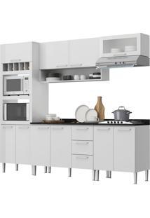 Cozinha Stella Branco C/ Tampo Genialflex Móveis