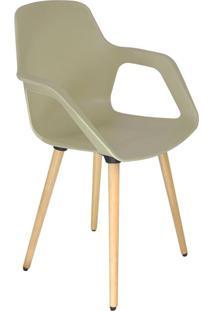 Cadeira De Cozinha Beau Com Braço Cappuccino