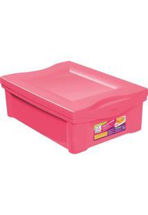 Caixa Organizadora Color- Rosa- 14,4X30,5X42,5Cmordene