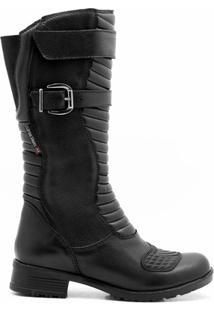 Bota Militar Atron Shoes Ziper Com Protetor De Câmbio - Masculino
