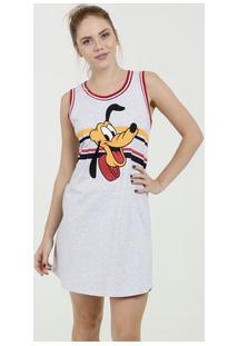 Camisola Feminina Estampa Pluto Sem Manga Disney