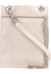 Rick Owens Drkshdw Carteira Security Pocket - Branco