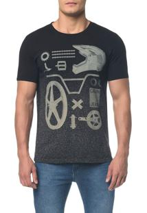 Camiseta Ckj Mc Estampa Elementos - Preto - Pp