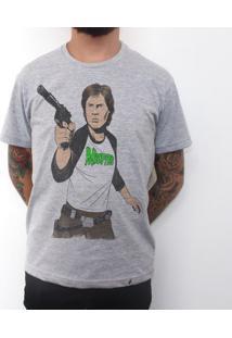 Han Rocker - Camiseta Clássica Masculina