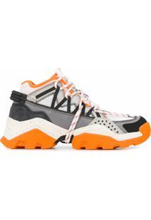 Kenzo Inka Low-Top Sneakers - Laranja