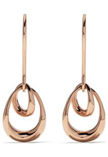 Georg Jensen Par De Brincos Offspring De Ouro Rosa 18K - Rose Gold