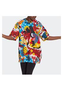 Vestido Camiseta Estampado Adidas Sportswear Egle
