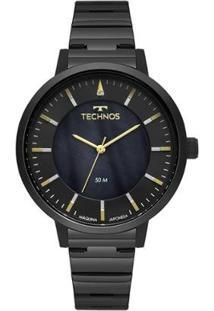 Relógio Technos Trend Feminino - Feminino-Preto