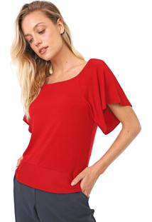 Blusa Maria Filó Amarração Vermelha - Kanui