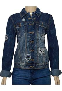 Jaqueta Fem Moikana 218116 Jeans