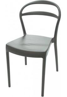 Cadeira Sissi Com Encosto Vazado Marrom - Tramontina 92047109