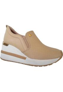 Tênis Via Marte Sneaker Anabela Slip On Plataforma Feminino - Feminino