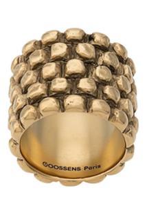 Goossens Anel Sulcado - Dourado