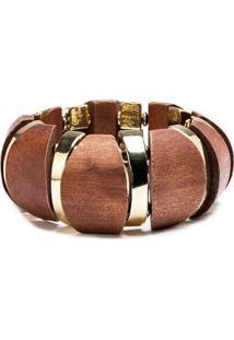 Bracelete De Madeira