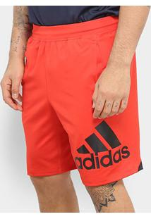 Bermuda Adidas 4Krft Bos 9 Masculina - Masculino-Vermelho