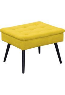 Puff Conforto Amarelo