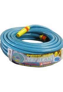 Mangueira Jet Jeans Emborrachada 15 Metros Azul Ibira