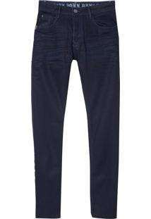 Calça John John Skinny Garopaba 3D Jeans Azul Masculina (Jeans Escuro, 46)