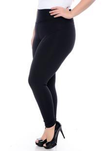 Calça Montaria Preta Modeladora Slim Fashion Confort-58