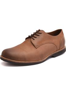 Sapato Social Oxford Shoes Grand Freedom Marfim Tamanho Especial