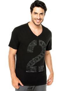 Camiseta Mandi Estampa Preta