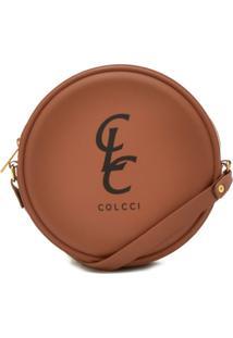 Bolsa Colcci Logo Caramelo