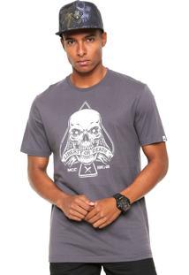Camiseta Mcd Liberty Or Death Cinza