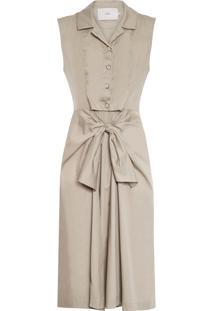 Vestido Petra - Bege