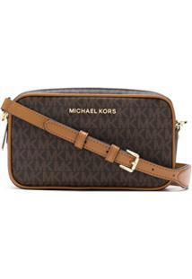 Michael Michael Kors Bolsa Tiracolo Camera Bag Connie - Marrom
