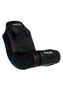 Poltrona Gamer Max Racer Mobi Advanced, Som Integrado, Preta - Mob-Adv-06