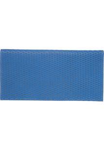 Carteira Dafiti Accessories Textura Azul