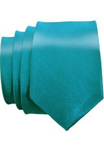 Gravata Unyforme Slim Azul Tiffany