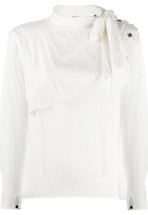 Isabel Marant Blusa Com Padronagem - Branco