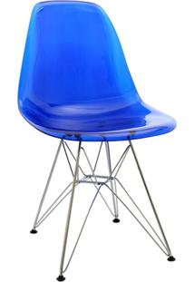 Cadeira Eames Dkr Azul Or Design