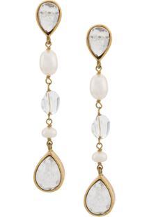 Goossens Cachemire Earrings - Dourado