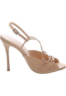 Sandália Thin Stiletto New Tanino | Schutz