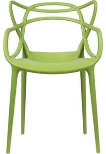 Cadeira De Cozinha Design Rivatti Allegra - Verde
